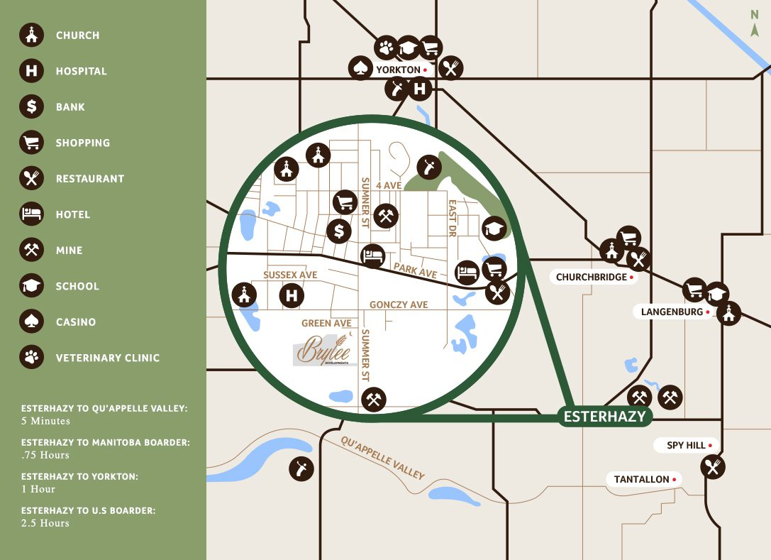 Brylee Estates Local Amenities Map